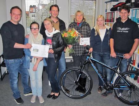 Gewinner unseres Gewinnspiels zur diesjährigen REZ Autoschau - 2013