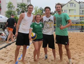 Sommer – Sonne – Beachvolleyball..<br>und das mitten im REZ!