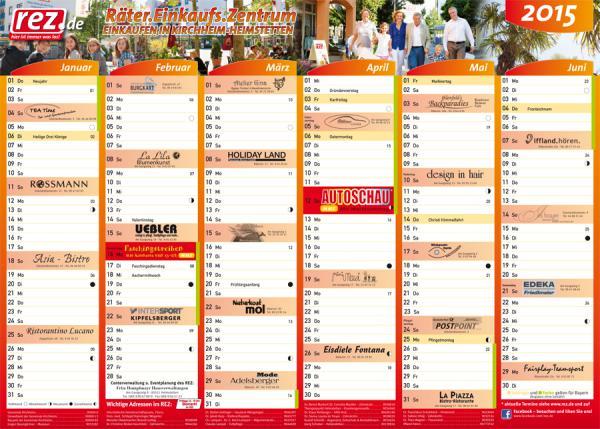 Der neue REZ-Kalender 2015 ist da!
