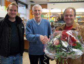 35 Jahre St. Emmeram Apotheke im REZ!<br>Herzlichen Glückwunsch und vielen Dank!