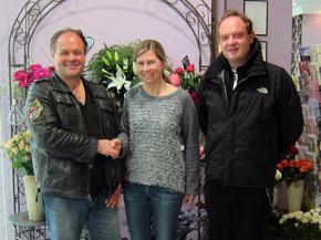 5 Jahre La Lila Blumenkunst im REZ!<br>Herzlichen Glückwunsch und vielen Dank!