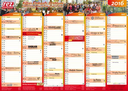 Der neue REZ-Kalender 2016 ist da!