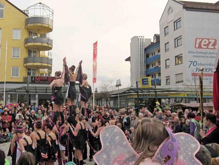 Kirnarra-Fasching im REZ Heimstetten