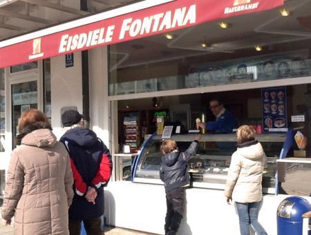 Eisalarm im REZ! Eisdiele Fontana<br>öffnet wieder am 27. Februar 2016!