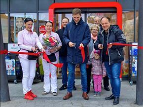 Eröffnung der neuen Rossmann-Filiale<br>im Räter-Einkaufs-Zentrum Heimstetten!