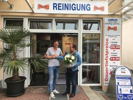 <br>30 Jahre Textilpflege Uebler im REZ!