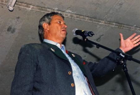 Gerhard Polt in der REZ Tiefgarage 1998, legendär :-)