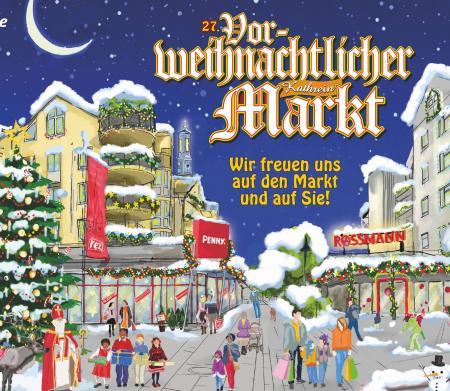 27. Vorweihnachtlichen Kathrein-Markt!<br>Jetzt beim Online-Gewinnspiel teilnehmen!
