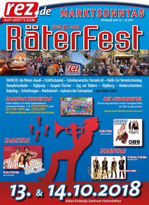 Flyer Räterfest 2018