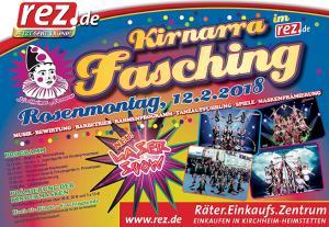 Kirnarra-Fasching im REZ!<br>NEU: MIT LASERSHOW!