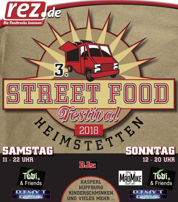 3. Street Food Festival im REZ Heimstetten