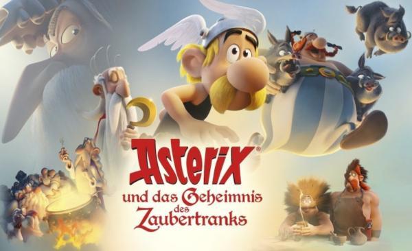 4. Open-Air-Kino im REZ - Asterix und das Geheimnis des Zaubertranks, Sonntag 18.8.19