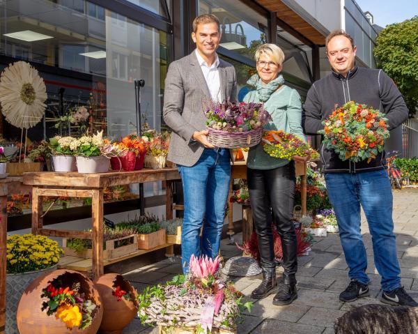 Blumenzauber Heimstetten eröffnet am 05. Oktober neuen Laden im REZ!