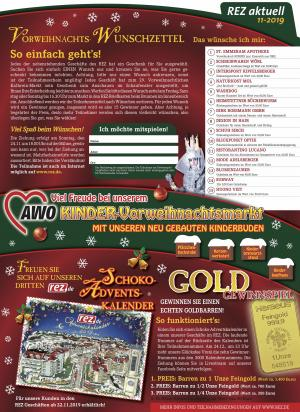 Das war der 29. Vorweihnachtliche Kathrein-Markt im REZ!