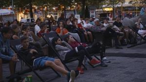 6. Open-Air-Kino im REZ - happy deathday - brutalo komisch :-)