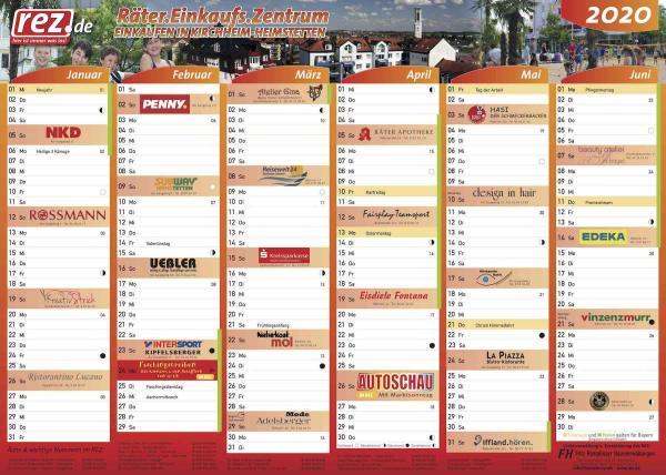 Der neue REZ-Kalender 2020 ist da!