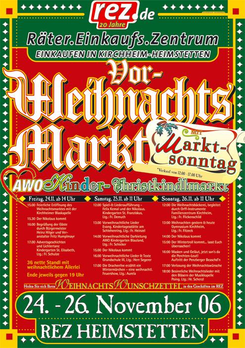 Vorweihnachtsmarkt 2006