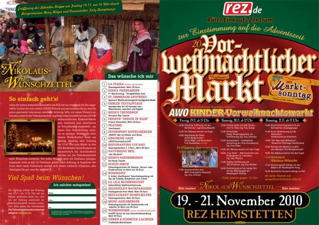 20 Jahre vorweihnachtlicher Kathrein-Markt im REZ