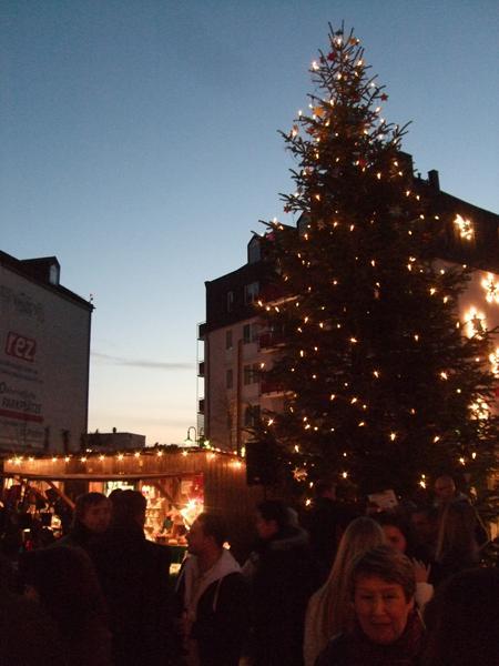Vor-Weihnachtsmarkt 2009