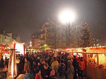 26. Vorweihnachtlichen Kathrein-Markt<br>im Räter-Einkaufs-Zentrum Heimstetten!