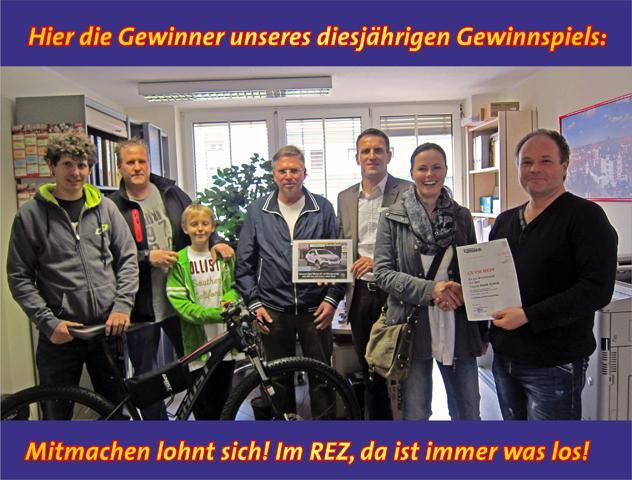 Die Gewinner unseres Gewinnspiels zur diesjährigen REZ Autoschau stehen fest!