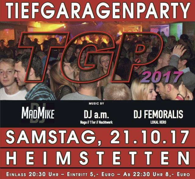 REZ Tiefgaragenparty 2017!
