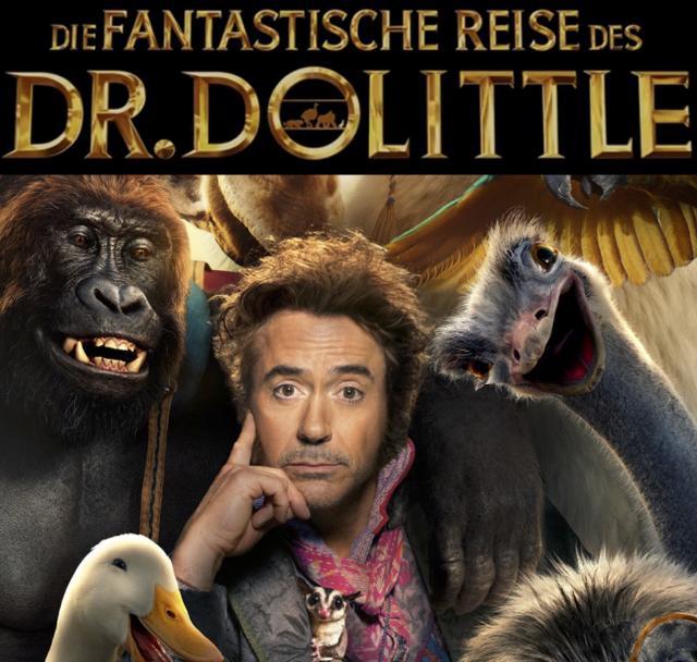 9. Open-Air Kino am Fr., 21.8.20 - Fantastische Reise des Dr. Dolittle