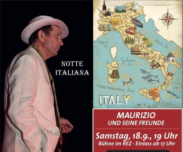 Notte Italiana - mit Maurizio & Freunden am 18.9.21
