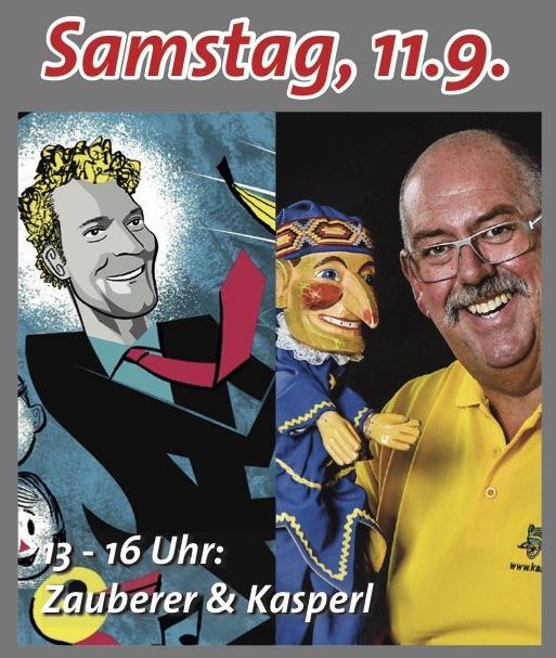 Zauberer René & Kasperl im REZ am 11.9.21